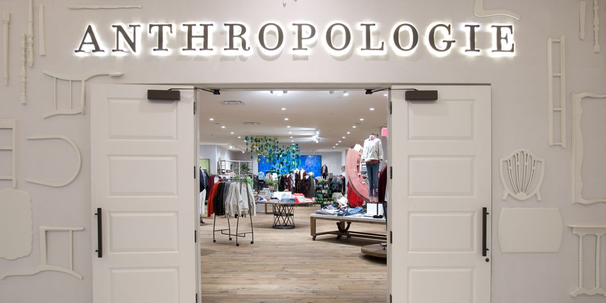 Anthropologie earth month