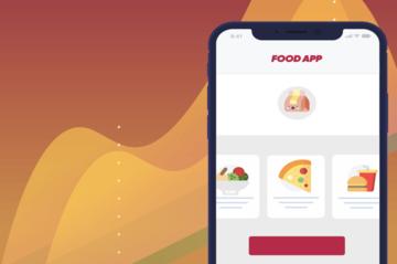advertising food app