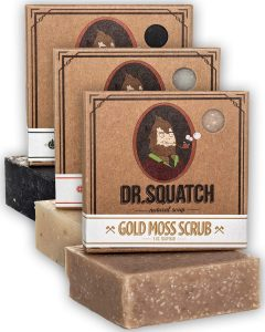 Dr. Squatch sustainable soap